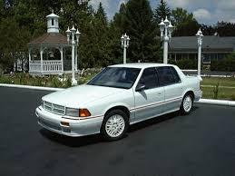Dodge Spirit Plymouth Acclaim Chrysler Spiritrtturbo 1991 Dodge Spirit Specs Photos Modification Info