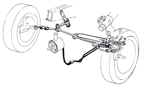 66 mustang power steering power assist system