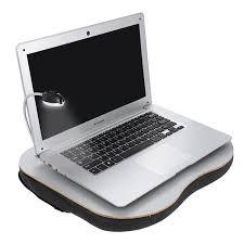 Laptop Desk With Led Light Mirage Rakuten Portable Laptop Desk With Foam Cushion Led Light