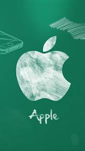 apple chalkboard iphone 5 se wallpaper