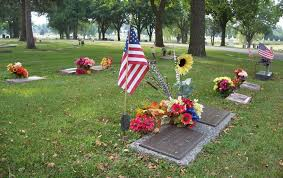 gravesite decorations decoration guidelines city ia