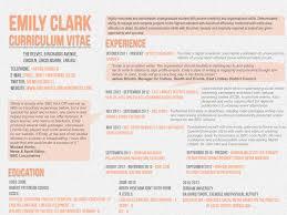 curriculum vitae emily clark