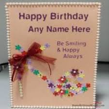 write name on funny birthday wish for everyone happy birthday