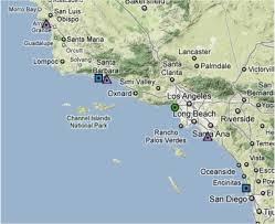 Map Of Long Beach California Coastal Upwelling And Harmful Algal Blooms In Southern California
