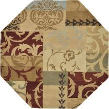 Octagon Shaped Area Rugs Octagon Area Rugs Roselawnlutheran