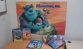 free monsters poster disney u0027s wonderful reading