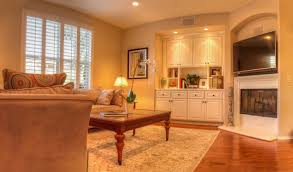 Living Room With No Coffee Table by Your Town Realty