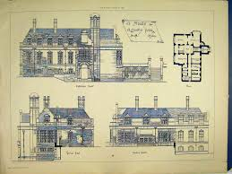 Townhouse Plan Historic Victorian House Plans Hahnow