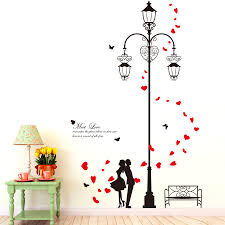 compare prices on lighthouse wall mural online shopping buy low removable diy romantic lighthouse lover butterfly wall stickers quotes living room bedroom decoration murals adesivo de