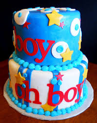 baby boy cakes photo boy baby shower cakes without image