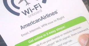 american airlines free wifi american airlines to offer in flight streaming to personal devices