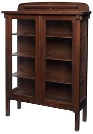 Glass Door Bookshelf Bookcase Antique Glass Door Bookshelves Antique Single Glass