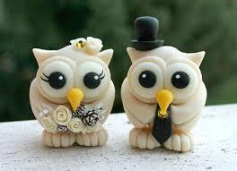 owl wedding cake topper winter wedding owl cake topper chagne birds pinecone