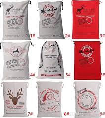 santa sacks santa sacks bag christmas holloween canvas monogrammable santa claus