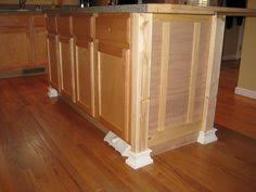 how to add a kitchen island beef up a kitchen island with board batten 2x4 corners and molding