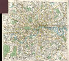 London Zip Code Map by Map Of England 1900 London Map