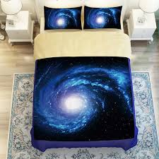 Electric Blue Duvet Cover Sale 3d Galaxy Star Starry Sky Nightly Design Twin Queen