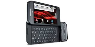 remember first android smartphone was htc dream or google g1