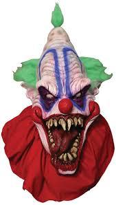 killer clown mask big top clown mask masks