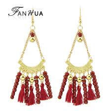 online get cheap beaded chandelier earrings aliexpress com