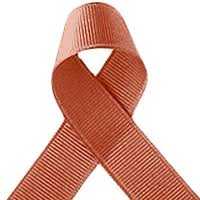 copper ribbon copper grosgrain ribbon