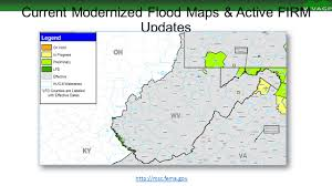 Fema Flood Maps West Virginia Gis Conference Wv Flood Risk Mapping Status And