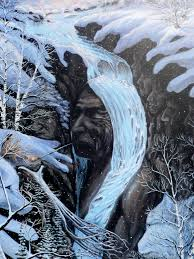native american art eli thomas art waterfalls art spirit