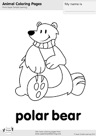 Coloring Pages Resource Type Super Simple Coloring Page