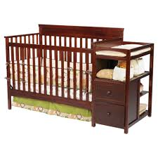 delta convertible crib toddler rail delta children houston crib n changer espresso