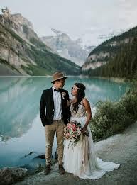Wedding Planners In Utah Lake Louise Elopement Angie Juan Elopements Wedding Planners