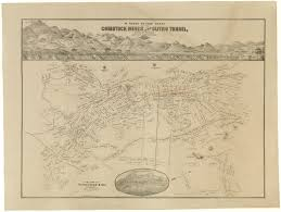 State Of Nevada Map by Map Of The Comstock Mines And Sutro Tunnel Rare U0026 Antique Maps