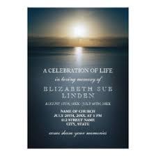 funeral invitation template funeral invitations announcements zazzle