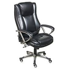 serta big tall executive chair black by office depot u0026 officemax