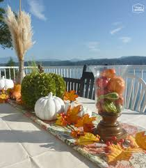 happy canadian thanksgiving a fall table and family photos the