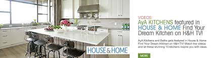 canadian kitchen cabinet manufacturers aya kitchen studio of richmond hill kitchen and bath cabinetry