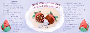 White Chocolate Covered Strawberries By Spiked Strawberry Shortcake Chocolate Dipped Strawberries By Liz