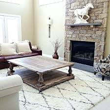 oversized balustrade coffee table from farmhouse living for 75000