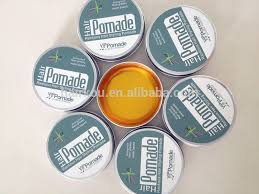 Pomade Wax strong hold water base solution hair styling product hair wax