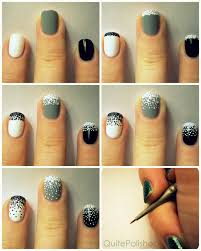 thanksgiving nail art tutorial 25 simple nail art tutorials for beginners
