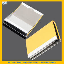 Magnetic Business Card Holder China Pocket Leather Card Holder Exquisite Magnetic Attractive