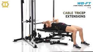 workbench functional trainer powertec 1 2 youtube
