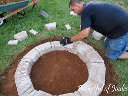 Build Firepit Decorating Diy Firepit Of Decorating Scenic Photo Pit 33
