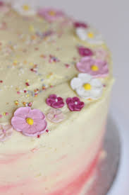 floral birthday cake u2014 mad fun creative