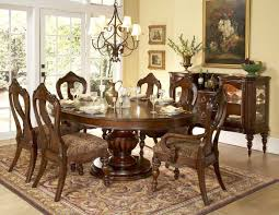 new classic dining room design with lovable chandelier and