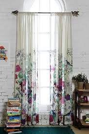 Urban Outfitters Waterfall Ruffle Curtain by Curtains Urban Outfitters Decorate The House With Beautiful Curtains