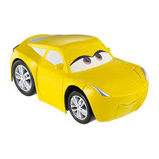 cars characters yellow disney pixar cars 3 funny talkers cruz ramirez vehicle dyw64