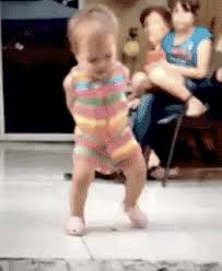 Dancing Baby Meme - hip hop happy dance gif find share on giphy
