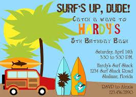 14th birthday party invitations surfer dude birthday party invitation boy diy printable