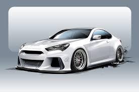 hyundai genesis coupe supercharger supercharged hyundai genesis coupe heads to sema with 500 hp