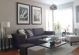 dark gray living room interior design